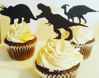 Dino cupcake toppers,dinosaur birthday, birthday party, cupcake toppers