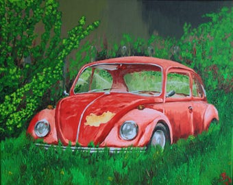 Beetle Car painting