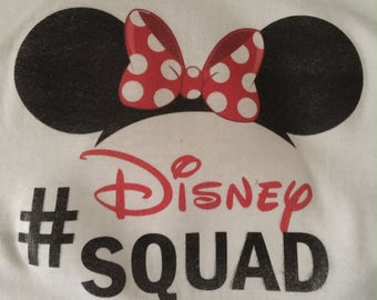 Disney Squad Iron on Transfer Minnie