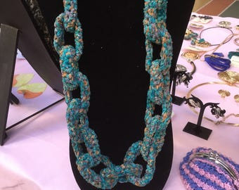 Chain long necklace