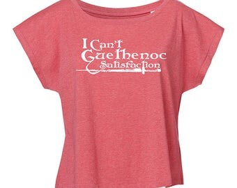 Oversize T-shirt I can't Guethenoc Satisfaction woman