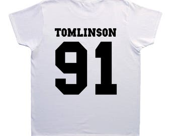 Louis Tomlinson One Direction T-shirt