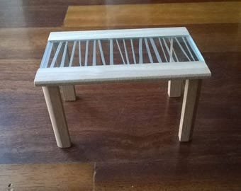 Table for dollhouse scale 1.12