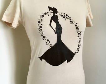 "Teeze ""Dora"" Women's T-Shirt ~ Beige"