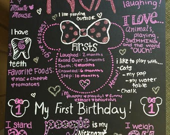 Personalized Birthday Sign