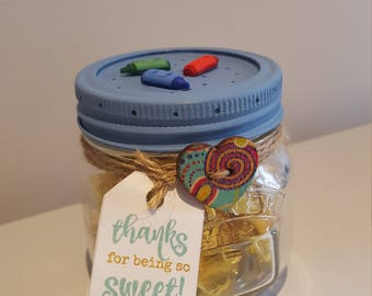 Thanks for being so sweet! Sweet Jar