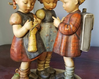 "Hummel 177 tmk 2 figurine "" school girls"""