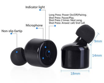 KNobs  Wireless earbuds