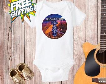 Led Zeppelin Baby Onesie® ,Baby Rock Onesie®, Baby Shower Gift, Baby Rock N' Roll, Baby Shower Rock, Newborn Bodysuit, Baby Rock, Cool Baby