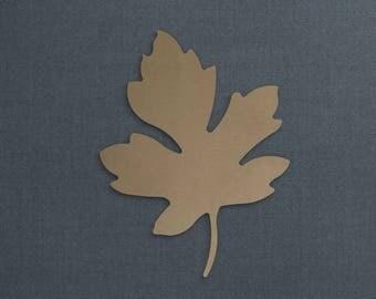Leaf, Maple Leaf, Wood Cutout, Unfinished Sign