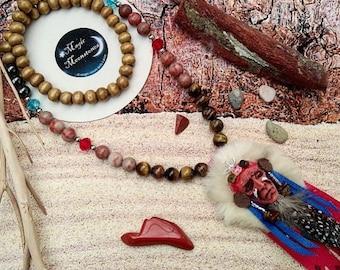 Lakota sioux misum necklace