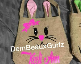Easter Rabbit Bags