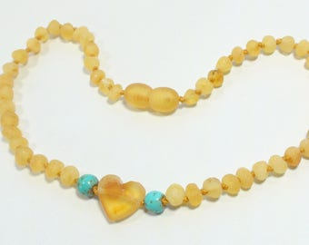 Beautiful Natural Baltic baby necklace for charity
