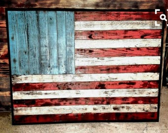 OLD GLORY RUSTIC FlAG