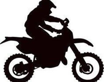 Motorcross Decal/ Motocross Iron On/ Brapp/ Dirt Bikes/ Extreme Sports/ Stickers
