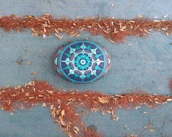 Painted Rock Mandala