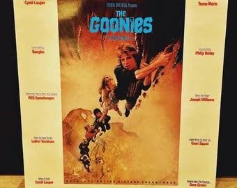 The Goonies- Soundtrack LP 1985
