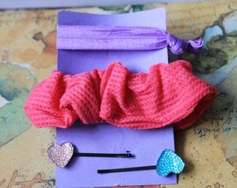 Pink Scrunchy Gift Bag