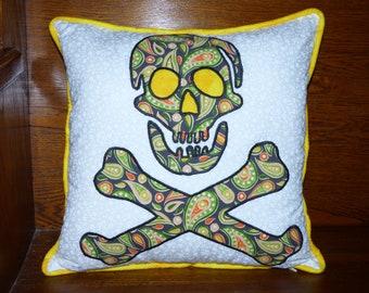 Pirate Jolly Roger Hippie Pillowcase