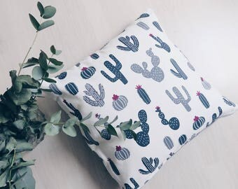 Cushion Cactus grey/white
