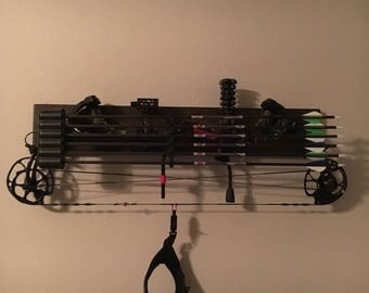 Bow display rack