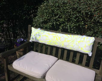 Tuinbank pillow Richelieu fluor yellow