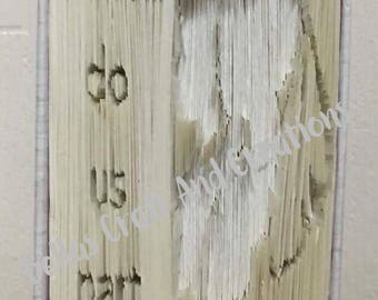Till death do us part book folding pattern