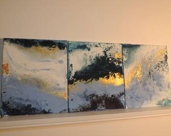 WATER SERIES 2. fluid painting