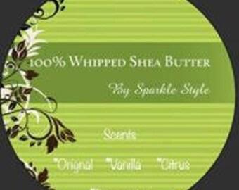 100% Hand Whipped Shea Butter