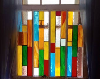 Stained Glass Window Curtain