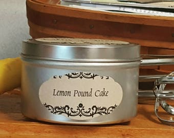 Lemon Pound Cake 8oz.