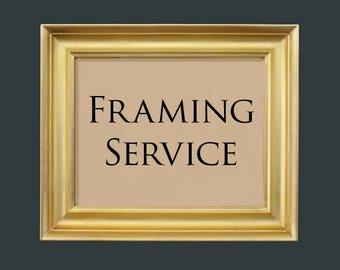 Frame your Order