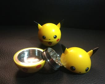 Pokemon Pikachu Yellow Herb  Grinder US seller Fast Free Shipping