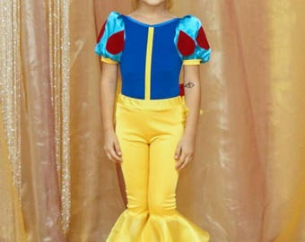 Snow White costume.  Halloween costume. Birthday costume.