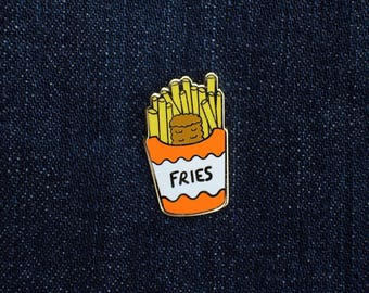 Tator Tot In Fries Pin