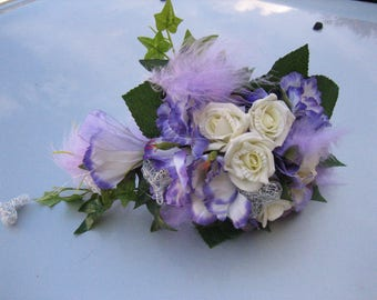 elegant bridal bouquet wedding rose Registry Office