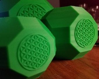 Life Fractal 3D Printed Flower Pots