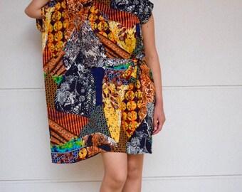 Dress woman, dress wedding, communion dress, dress, asymmetrical dress, short dress, spring/summer, exclusive