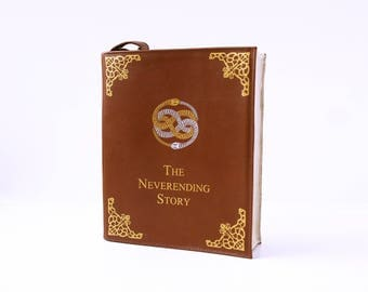 The Neverending Story Leather Book Bag Leather Book Purse