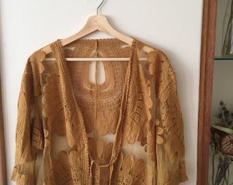 70s Style Kimono Jacket