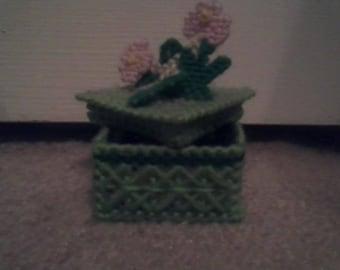 Flower Trinket Box