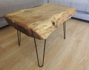 Natural Mazel Tree 90x84x76x5 Cm coffee table