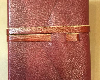 Leather sketchbook/diary/notebook/journal