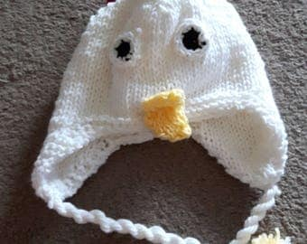 Chicken Hat  (child size)