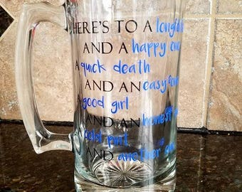 Customizable Beer Mug