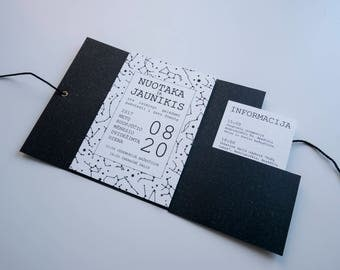 Handmade invitation