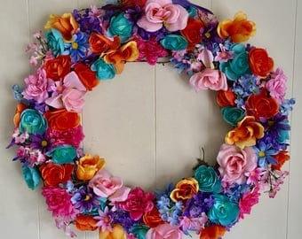 Decorative Spring Wreath