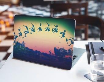 Laptop Skin, Dell laptop Skin, Surfing, Surf Art, Surf Decor, MacBook Pro Skin, Macbook Stickers, Laptop Decal, Surfing Artwork, Beach Life