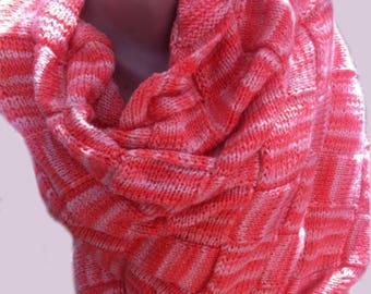 Knitted Scarf, Shawls and Wraps, Shawl, Wool Wrap, Gift Accessories, Birthday Gift, Gift for her, Gift for mother, Knitted Wrap, Wraps