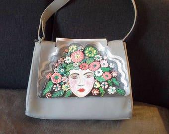 Painted Handbag